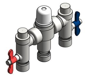 Product: Heatguard Dual Thermostatic Mixing Valve