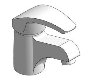 Product: Merit Single Lever Basin Mixer Tap