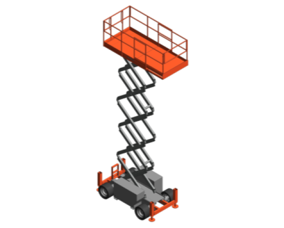Revit, BIM, Download, Free, Components, Object, Speedy, Hire, Services, Site, Building, Equipment, 14, SKYJACK, Access, Platform, SJ6832