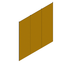 Product: Optima XPC 200mm (Extruded Plank Rainscreen)