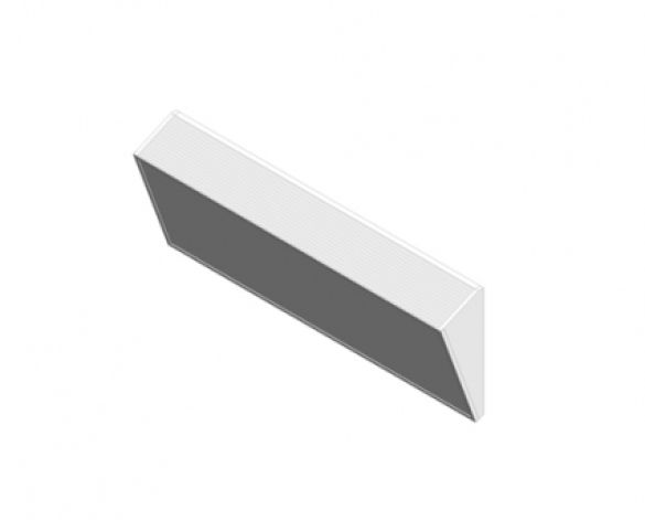 Thermatile Plus Wall Mounted Angled Frame Radiant Panel