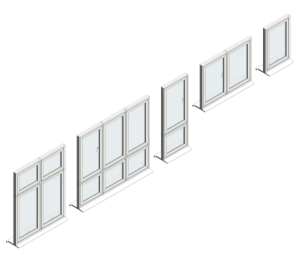 Product: Flush Casement Windows