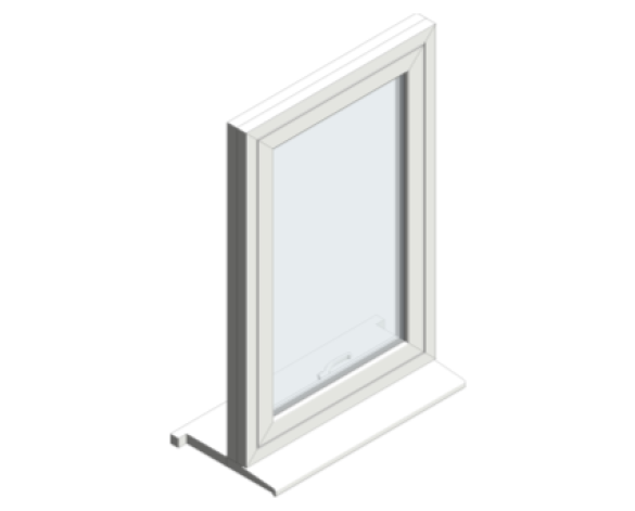 Revit, BIM, Download, Free, Components, 70, clean, easy, window, Flush, Casement, object, Spectus, systems, profile,