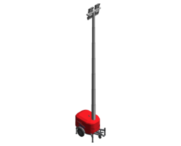 Revit, BIM, Download, Free, Components, Object, Speedy, Hire, Services, Site, Building, Equipment, 14, Towerlight, Lighting, VT, 1, light