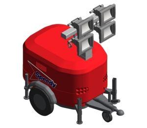 Product: Speedy Generac Towerlight - VB9 Old