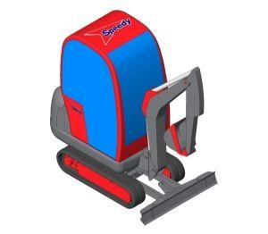 Product: Speedy JCB - 1.5 Tonne Mini Excavator - 8018