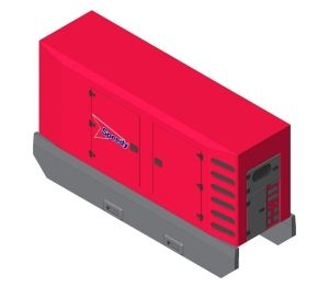 Product: Speedy SDMO Generator - R275 C3 Canopy M3228