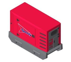 Product: Speedy SDMO Generator - R33 R44 C3 Canopy M3127