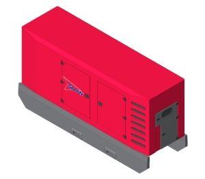 Product: Speedy SDMO Generator - R550 C3 Canopy M3229