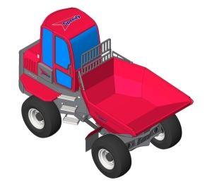 Product: Speedy Wacker Neuson - 6 Tonne Swivel Dumper Truck