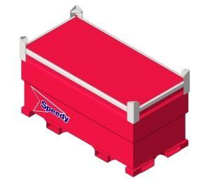 Product: Speedy WESTERN ENVIRONMENT - Bulk Container - 10TCG, 20TCG, 30TCG