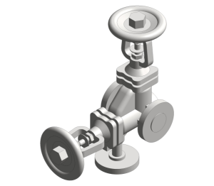 Product: DBB3 Double Block and Bleed Bellows Sealed Stop Valve