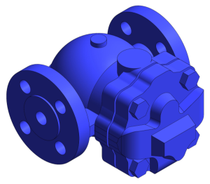 Product: FT14 Flanged Ball Float Steam Trap