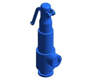 Product: SV615 Sanitary Clamp Safety Valve