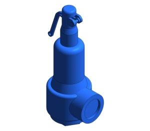 Product: SV615 Screwed Clamp Safety Valve