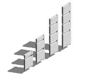 Product: Caliente Towel Rail - Double