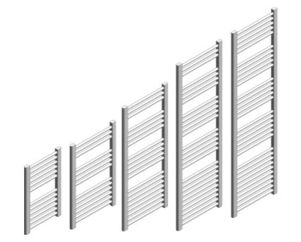 Revit, BIM, Download, Free, Components, object, objects, Stelrad, radiator, heating, mechanical, range, equipment, radiators,bathroom,kitchen, towel,rail,straight,slimline,TR,chrome,white