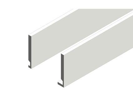 Revit, Bim, Store, Components, MEP, Object, Swish, Building, Products,14, METRIC, Fascia,16mm, Flat, Square
