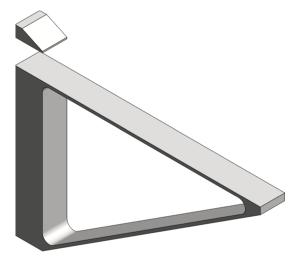 Product: Arrow Shelf Bracket
