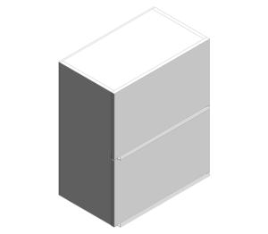Product: Bi-Fold Wall Cabinets
