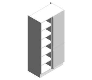 Product: Corner Larder Cabinets