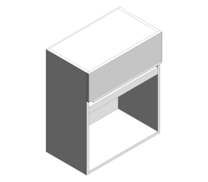 Product: Microwave Wall Cabinet