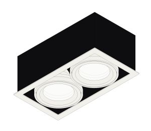 Product: Quattro Square LED Downlight