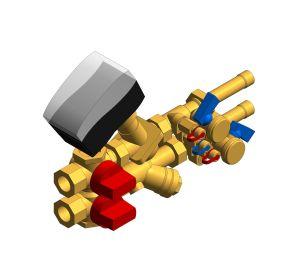 Product: Miniflush 40 BG29 Strainer, 2 x drain