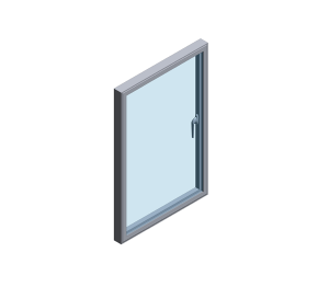 Product: Technal Concealed Vent Window System