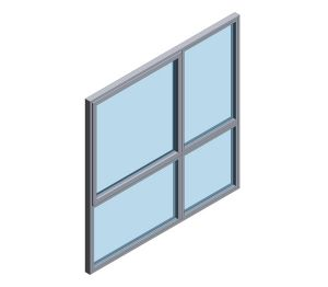 Product: Technal FY65 SOLEAL High Performance Window System (Composite)