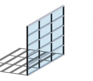 Product: Technal MX Acoustic Curtain Walling