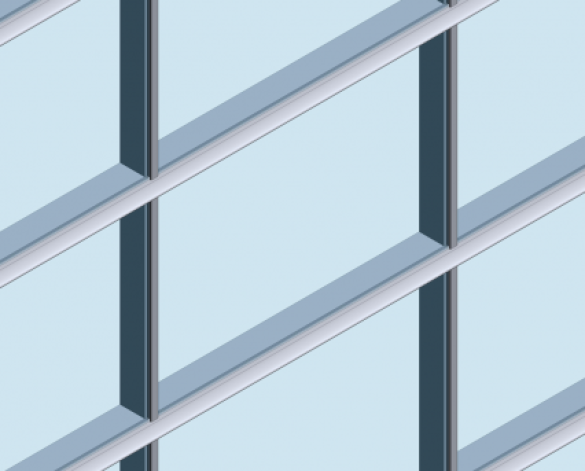 MX Acoustic Curtain Walling