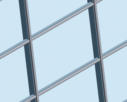 MX Sloped Curtain Walling