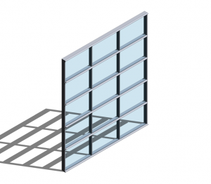 Product: Technal MX Trame Curtain Walling