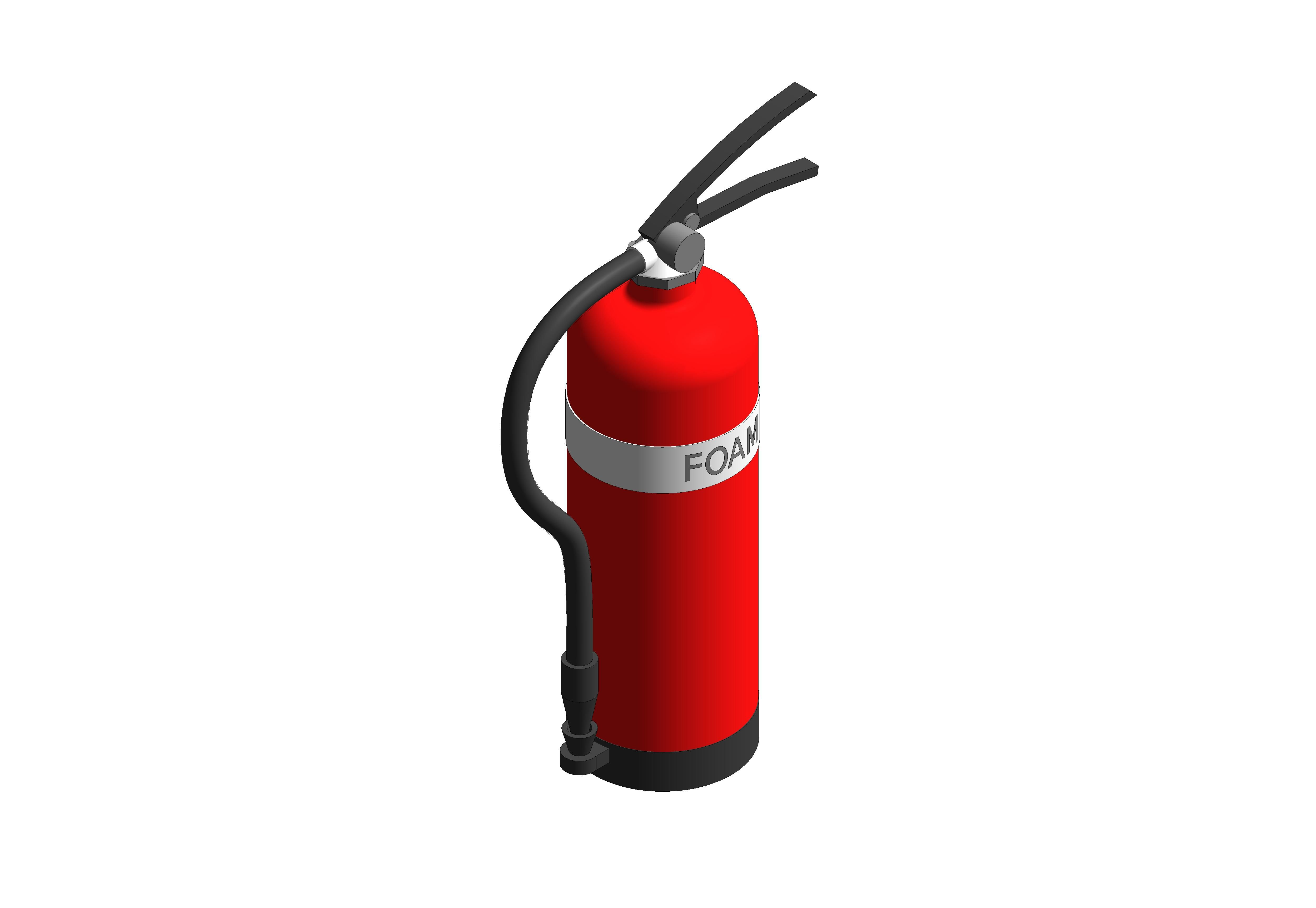 Image of Foam Fire Extinguisher