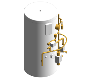 Product: ECOCYL Standard Indirect Pre Plumbed Single