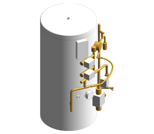 Product: ECOCYL Standard Indirect Pre Plumbed Twin