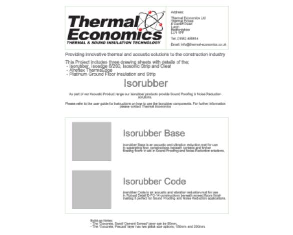 Revit, Bim, Store, Components, Generic, Model, Object, 14, thermal, economics, ltd, acoustic, products, base, code, isorubber