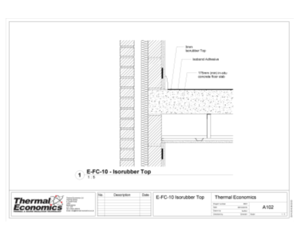 Revit, Bim, Store, Components, Generic, Model, Object, 14, thermal, economics, ltd, thermal, products, Isorubber, Top, acoustic, isolation, vibration, reduction, resilient, floor, construction, approved, Doc, Part, E, sound, proofing, robust, detail, E-FC-9, E-FC-10