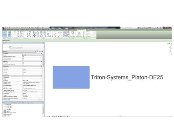 Revit, Bim, Store, Components, Object, 13, Triton, Platon, DE25