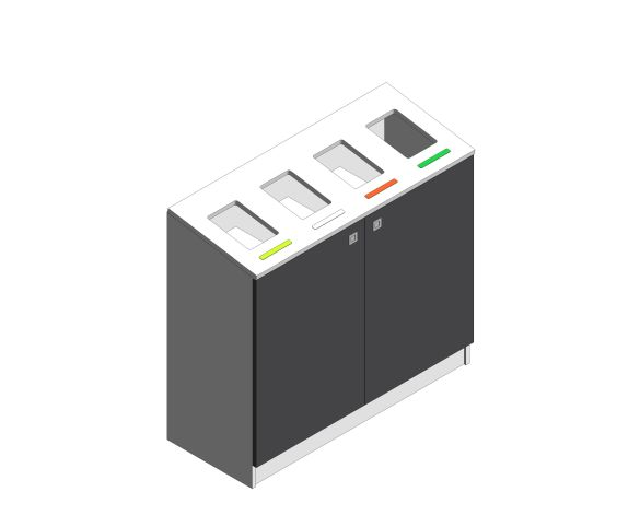 Product: MultiBin Recycling Station