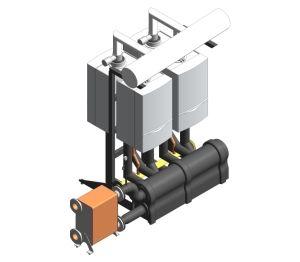 Product: ecoTEC Commercial Back to Back Cascading Boiler Rig