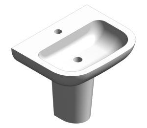 Product: S20 55cm Washbasin - 5502L003-0999