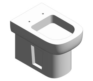 Product: S20 Back-To-Wall Single WC Pan - 5520L003-0075