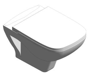 Product: S20 Wall-Hung WC Pan - 5507