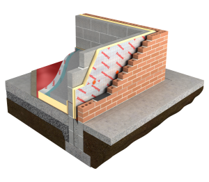Product: Thin-R Partial Fill Cavity Wall