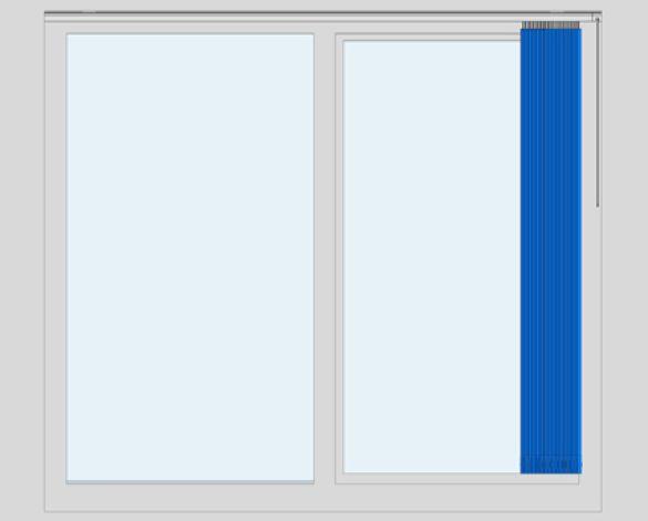 Revit, BIM, Download, Free, Components, Window, Décor, VL30, Premium, Profiled, Vertical, Blind