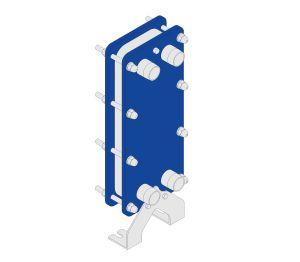 Product: Bare Plate Central Heating System Packaged Heat Exchanger