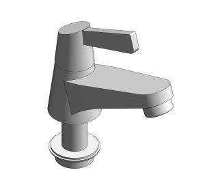 Product: Winston Basin Mono (Lever Handle) - FFAST601-1T1500BT0