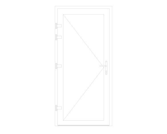 Product: XT66 Rebate - Standard Single Door